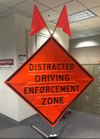DD enforcement sign