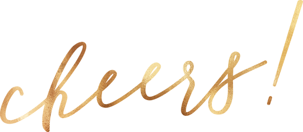 Canva - Gold New Year Cheers